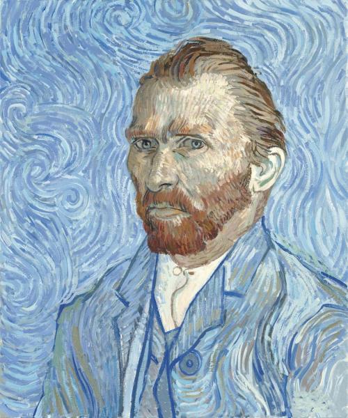 Vincent Van Gogh, Self Portrait - Remy, 1889