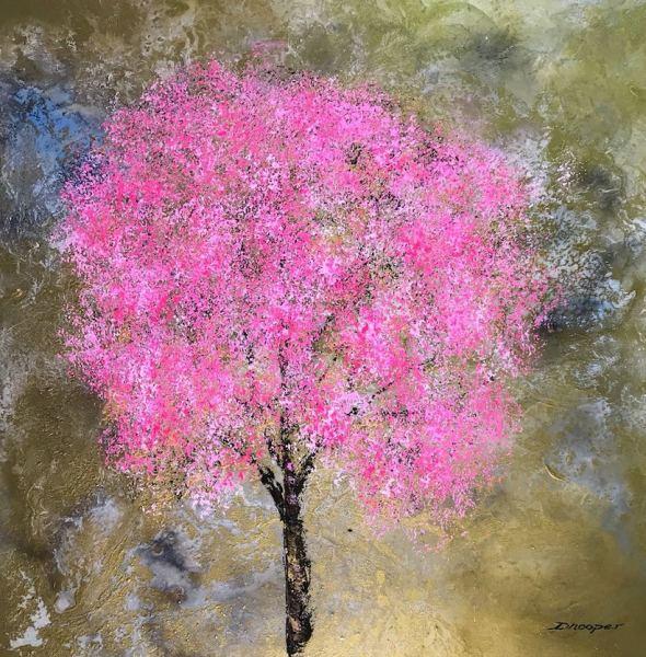 Golden (Blossom Series), 2018