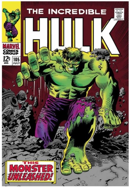 The Incredible Hulk #105 - This Monster Unleashed! (paper)