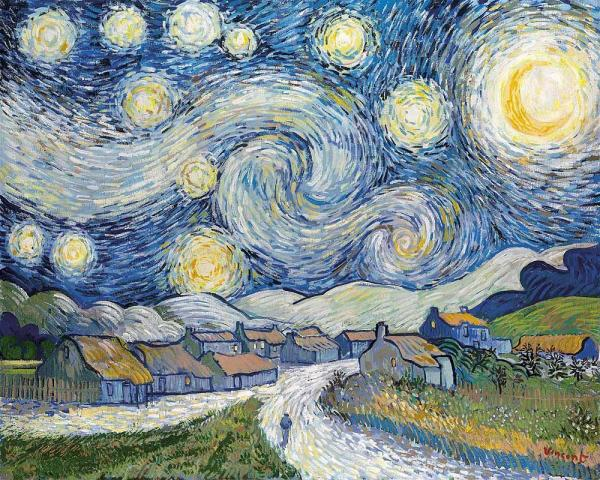 Starry Night, 2008