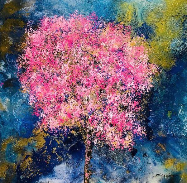 Aoi Hana (Blossom Series), 2018