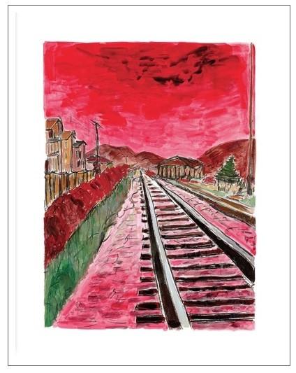 Train Tracks (medium format), 2014