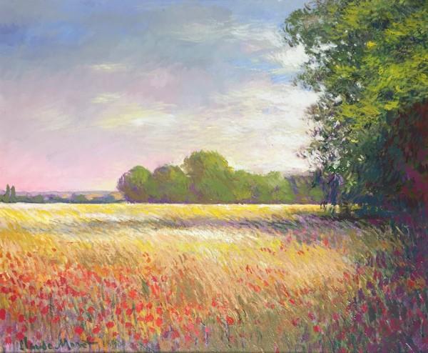 Oatfields near Giverny - Original, 2006