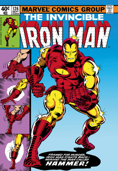 The Invincible Iron Man #126 - Iron Man Fights Back (canvas)