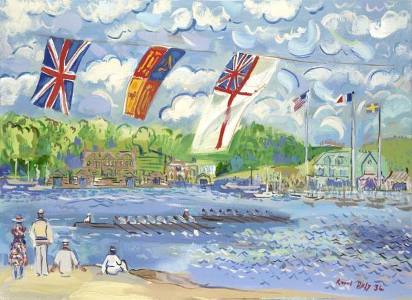 Regatta On The Thames
