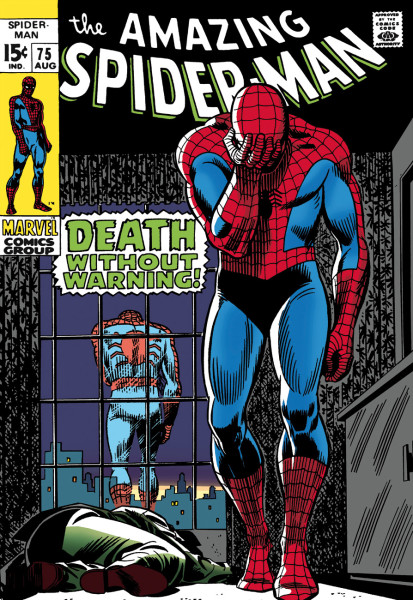 The Amazing Spider-Man #75 - Death Without Warning! (canvas)