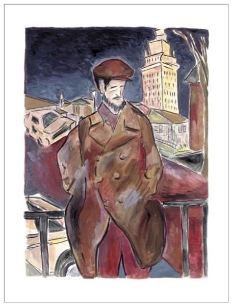 Man On A Bridge (large format), 2010