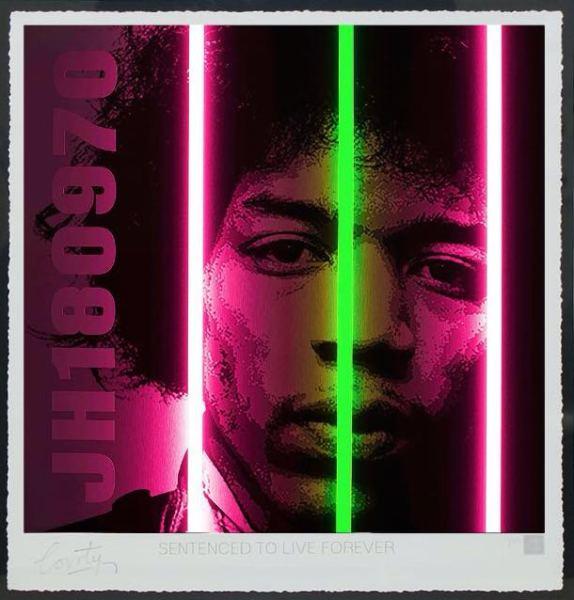 Jimi Hendrix / Life Series, 2017