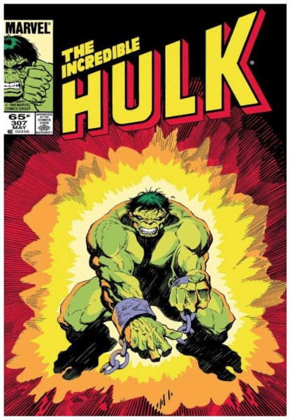 The Incredible Hulk #307 (canvas)