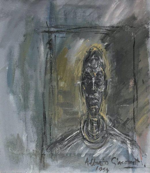 Bust portrait Diego Giacometti, 1954 - original, 2003