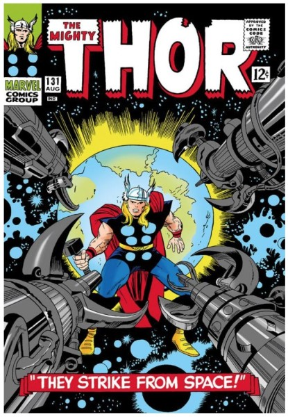 The Mighty Thor #131 - They Strike From Space! (paper)