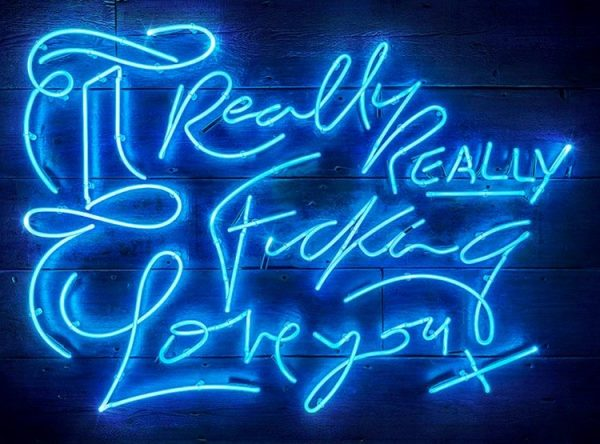 Really REALLY (Electric Blue) , 2018