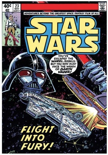 Star Wars #23 - Flight Into Fury (paper)