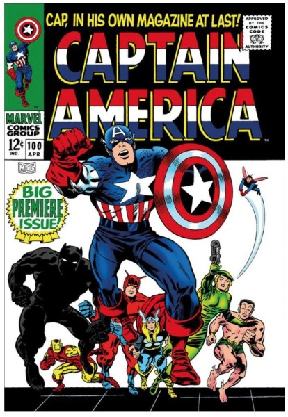 Captain America #100 - Big Premiere Issue! (paper)