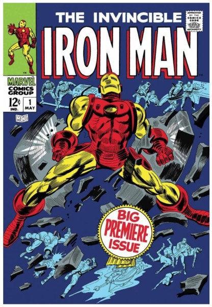 The Invincible Iron Man #1 - Big Premiere Issue (paper)