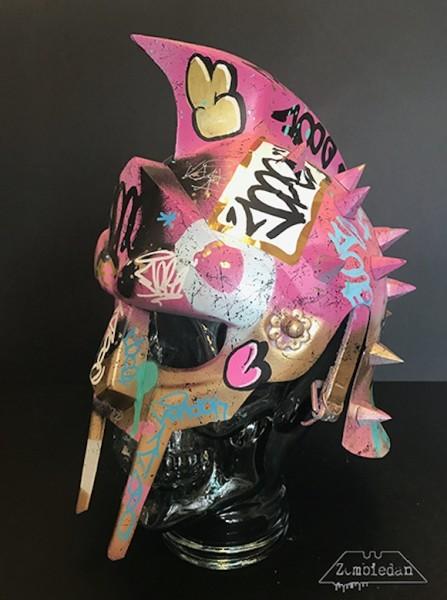 Vandal Helmet (pink), 2017