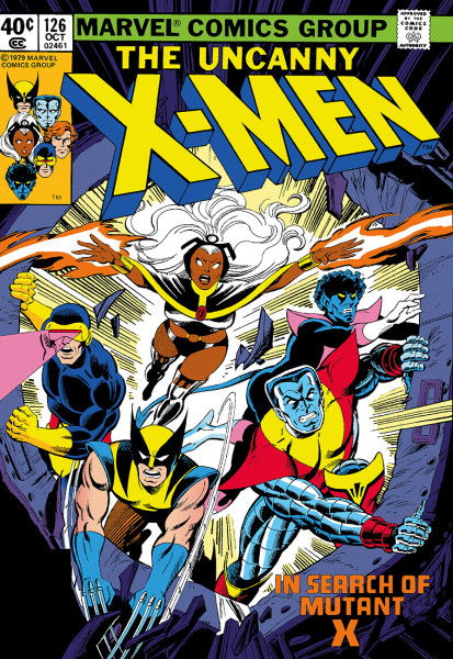 The Uncanny X-Men #126 - In Search Of Mutant X (canvas)