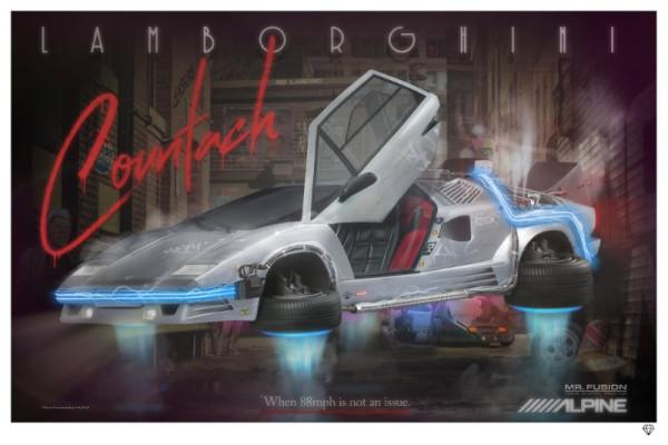 No Landing - Lamborghini Countach, 2018