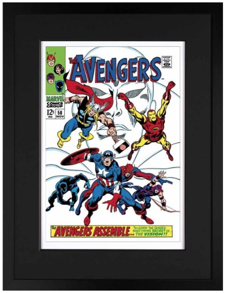 The Avengers #58 - The Avengers Assemble (paper)