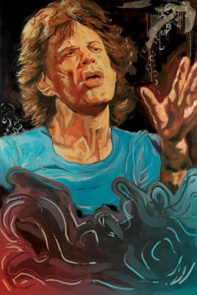 The Blue Smoke Suite - Mick - Boxed Canvas Edition