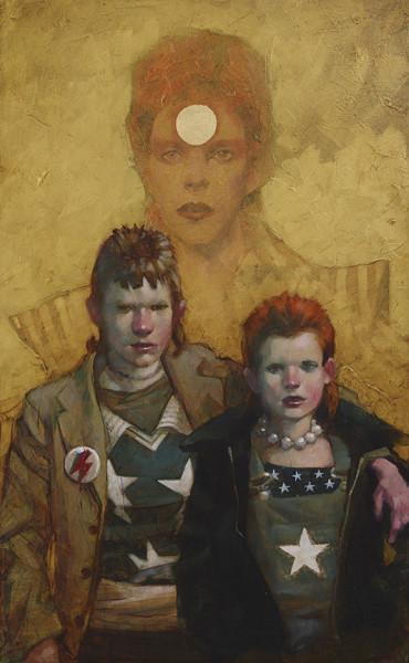 Let the Children Boogie (Bowie / Punk Couple), 2018