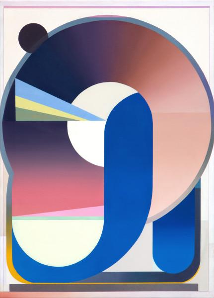 Bernhard Buhmann The Knot, 2020 Oil on canvas 97 x 70 cm 38 1/4 x 27 1/2 in