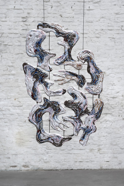 Monika Grabuschnigg, Tantalum melt, sourcing for I, 2019