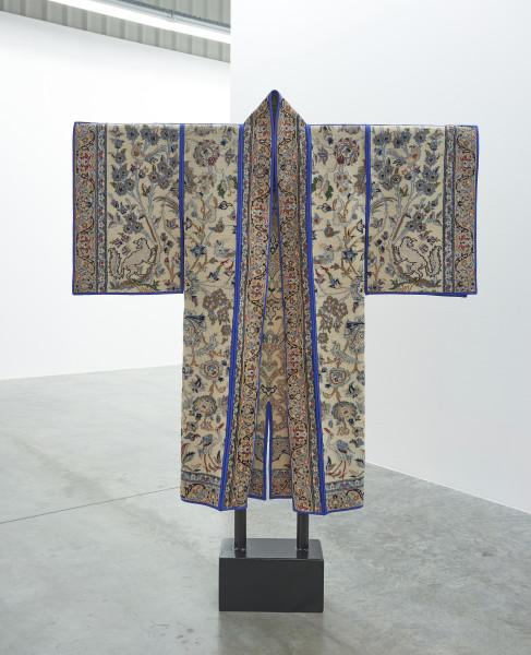 Anahita Razmi REIGN COAT #2, 2018 Carpet Jinbaori 149 x 134 cm 58 5/8 x 52 3/4 in