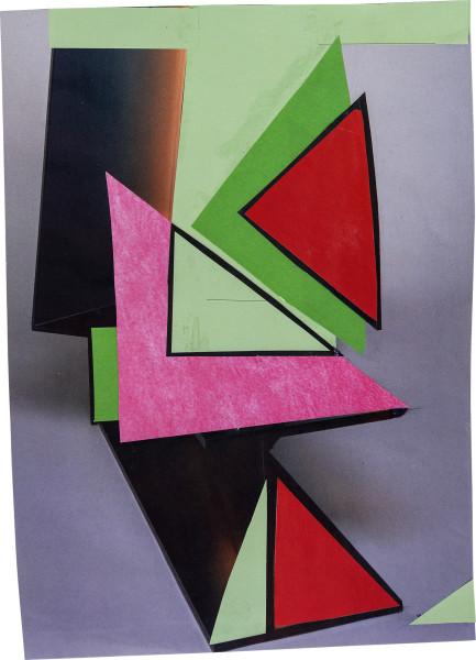 Elisabeth Wild Untitled (172), 2018 Collage on paper 26.8 x 19.4 cm 10 1/2 x 7 5/8 in