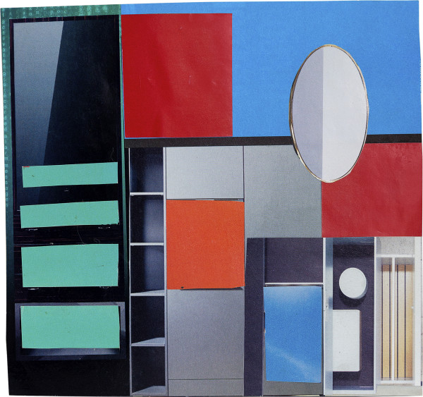 Elisabeth Wild Untitled (148), 2018 Collage on paper 18.2 x 19 cm 7 1/8 x 7 1/2 in