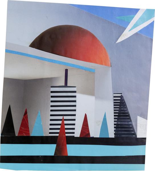 Elisabeth Wild Untitled (151), 2018 Collage on paper 24.4 x 21.2 cm 9 5/8 x 8 3/8 in