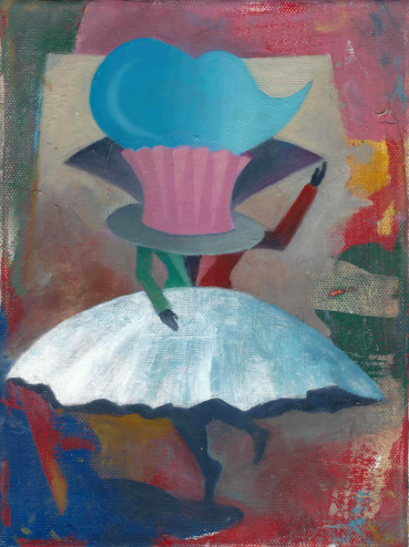 Bernhard Buhmann Wilma, 2016 Oil on canvas 24 x 18 cm 9 1/2 x 7 1/8 in