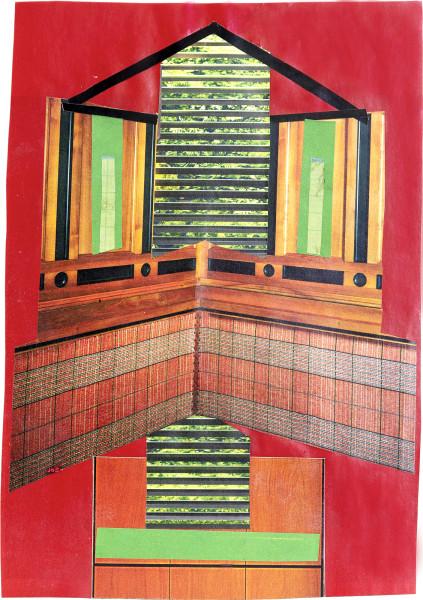 Elisabeth Wild Untitled (153), 2018 Collage on paper 23.5 x 16.4 cm 9 1/4 x 6 1/2 in