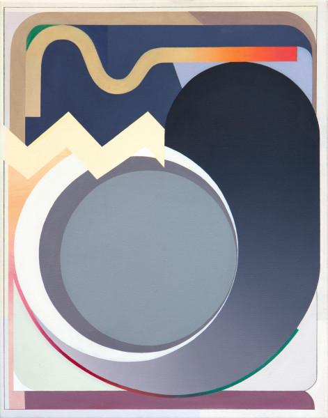 Bernhard Buhmann Om, 2019 Oil on canvas 69 x 54 cm 27 1/8 x 21 1/4 in