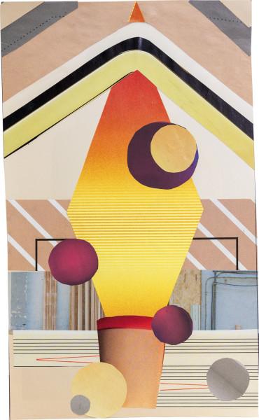 Elisabeth Wild Untitled (166), 2018 Collage on paper 27.8 x 16.7 cm 11 x 6 5/8 in