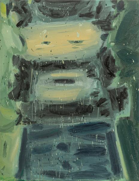 Amir Khojasteh Sad Fighter #2, 2020 Oil on canvas 83 x 64 cm 32 5/8 x 25 1/4 in