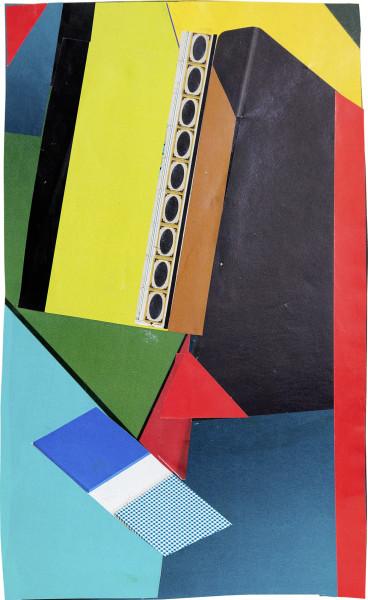 Elisabeth Wild Untitled (156), 2017 Collage on paper 25.8 x 15.6 cm 10 1/8 x 6 1/8 in