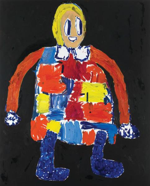 André Butzer, Untitled (841), 2013