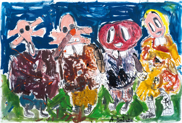 André Butzer Untitled, 2008 Oil on canvas 190 x 280 cm 74 3/4 x 110 1/4 in