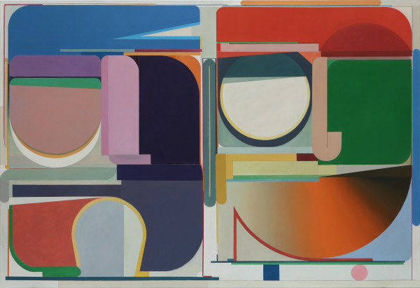 Bernhard Buhmann Sisters of mercy, 2018 Oil on canvas 200 x 290 cm 78 3/4 x 114 1/8 in