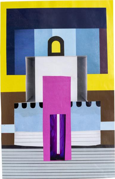 Elisabeth Wild Untitled (147), 2018 Collage on paper 24.5 x 16 cm 9 5/8 x 6 1/4 in