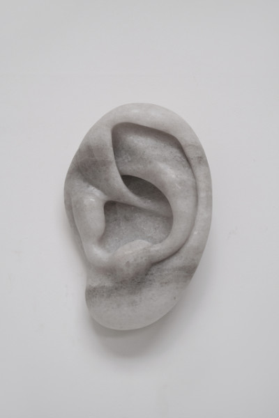 Michael Sailstorfer I can hear you (#8), 2019 Salt 43 x 30 x 18 cm 16 7/8 x 11 3/4 x 7 1/8 in