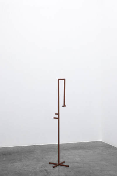 Amba Sayal-Bennett Crane, 2019 Powder coated mild steel 139 x 36.5 x 35 cm 54 3/4 x 14 3/8 x 13 3/4 in