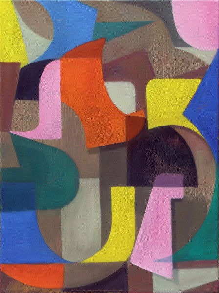 Bernhard Buhmann Untitled (b13), 2015 Oil and Acrylic on Canvas 57 x 42 cm 22 1/2 x 16 1/2 in