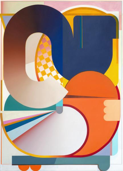Bernhard Buhmann The Cat, 2020 Oil on canvas 200 x 145 cm 78 3/4 x 57 1/8 in