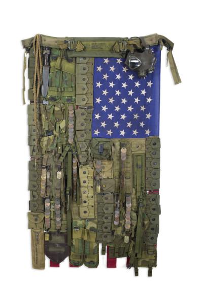 Sara Rahbar, Flag #56 Home of the Brave, 2017