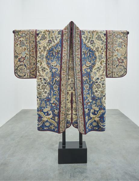 Anahita Razmi REIGN COAT #1, 2018 Carpet Jinbaori 148 x 164 cm 58 1/4 x 64 5/8 in