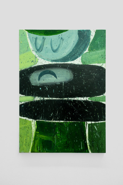 Amir Khojasteh Sad Fighter #10, 2021 Oil on canvas 85 x 60 cm 33 1/2 x 23 5/8 in