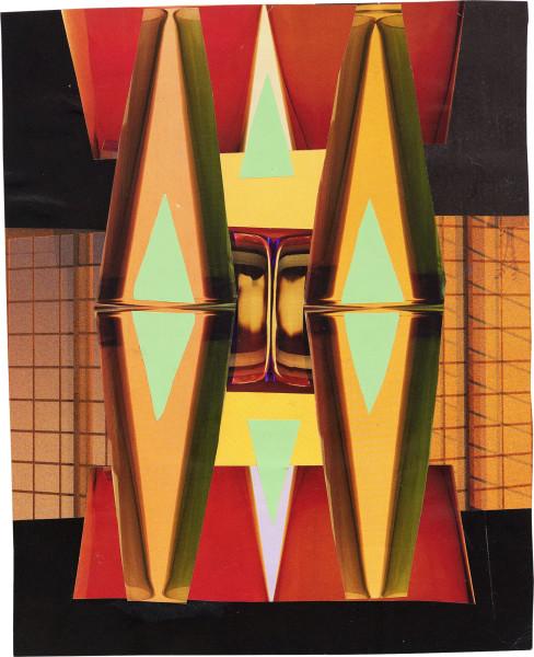 Elisabeth Wild Untitled (179), 2017 Collage on paper 23 x 18.6 cm 9 1/8 x 7 3/8 in