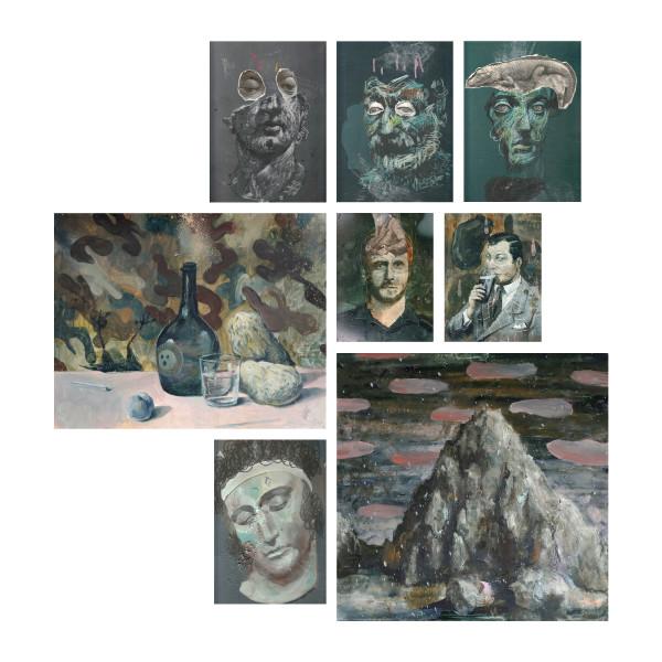 Philip Mueller Eternal boredom, 2017 Mixed media Variable